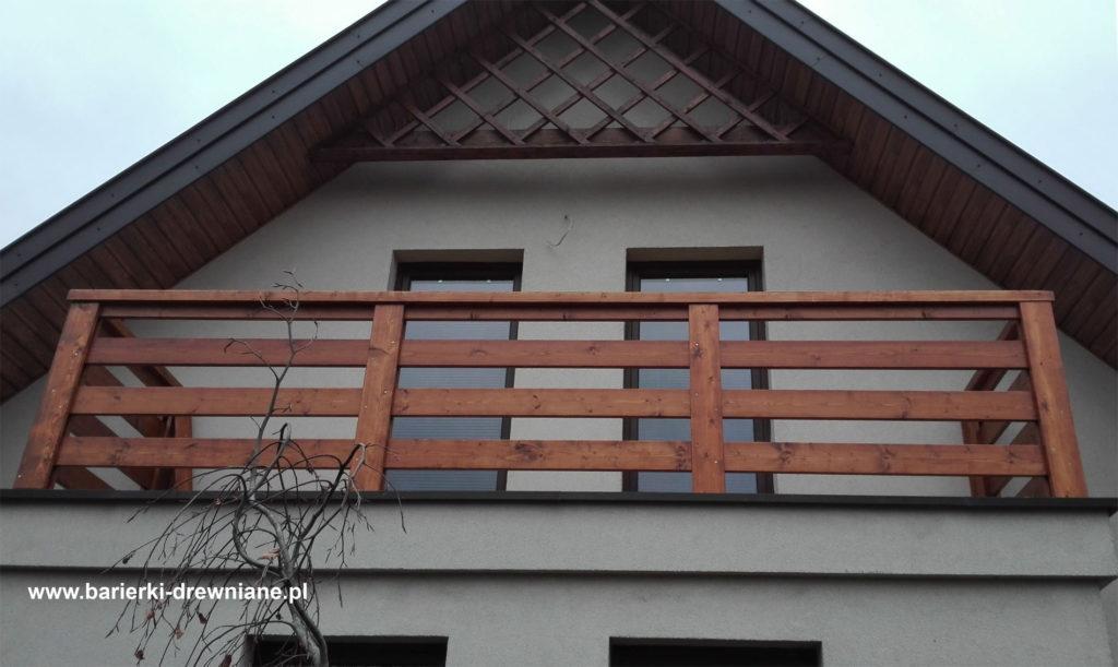 Barierki Drewniane Balustrady Na Balkony Oraz Tarasy