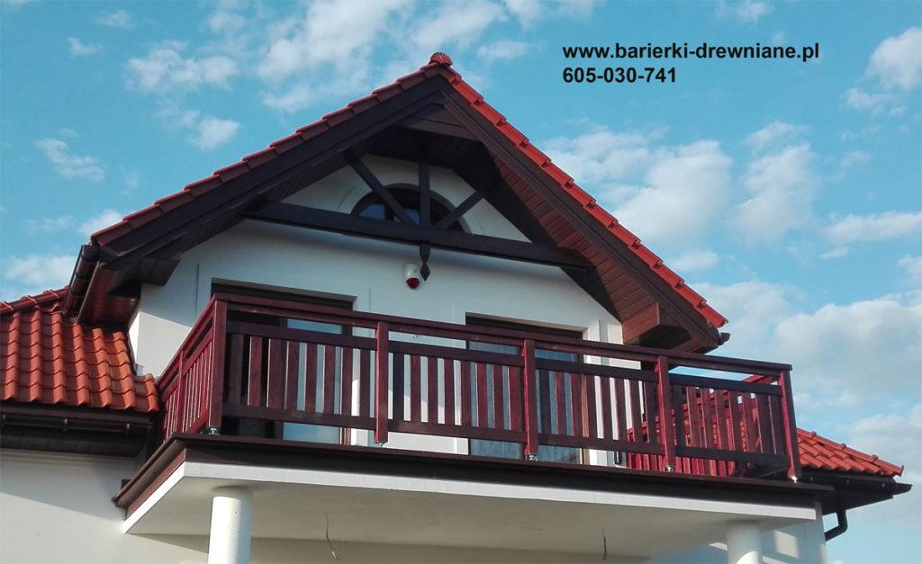 Wypełnienie pionowe balustrady