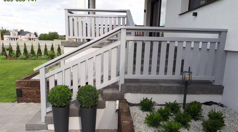 Schodowa balustrada