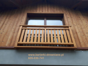 Barierka na okno francuskie